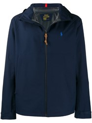 Polo Ralph Lauren Embroidered Logo Jacket Blue