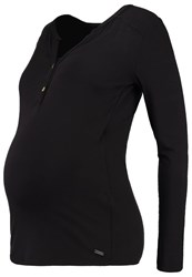 Bellybutton Julia Long Sleeved Top Black
