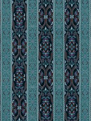 House Of Hackney Mamounia Midnight And Azurite Wallpaper Blue