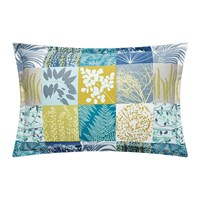 Clarissa Hulse Mini Patchwork Pillowcase Pair 50X75cm Aqua