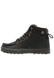 Dc Shoes Woodland Winter Boots Black