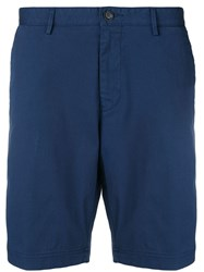 Hugo Boss Tailored Shorts Blue