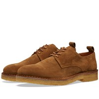 Ami Alexandre Mattiussi Crepe Sole Derby Brown