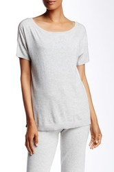 Ugg Jade Short Sleeve Sweater Gray