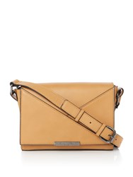 Kenneth Cole Gramercy Crossbody Bag Tan
