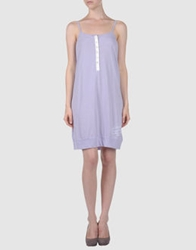 North Sails Short Dresses Lilac