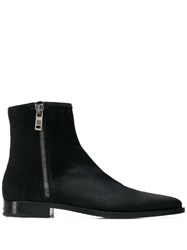 Givenchy Zipped Ankle Boots Black