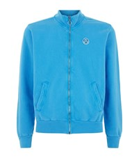 North Sails John Zip Up Sweater Male Blue