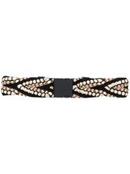 Dorothee Schumacher Braided Rope Belt 60