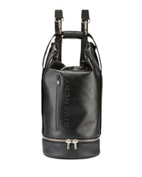 Givenchy Jaw Large Faux Leather Hybrid Bag Black
