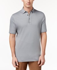 Tasso Elba Men's Supima Polo Only At Macy's Shade Grey