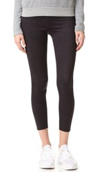 David Lerner Elliot Microsuede Leggings Classic Black
