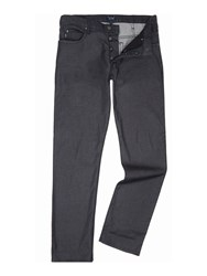 Armani Jeans J21 Regular Fit Washed Black