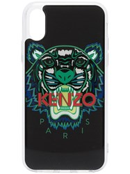 Kenzo Multicoloured Tiger Logo Print Iphone X Case