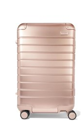 Away Carry On Aluminum Suitcase Gold