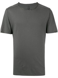Transit Round Neck T Shirt Grey