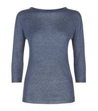 Max Mara Maxmara Weekend Thin Cashmere Jumper Female Blue