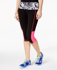 Material Girl Active Juniors' Cropped Printed Leggings Only At Macy's Party Animal