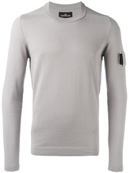 Stone Island Shadow Project Arm Detail Jumper Nude Neutrals