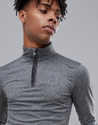 Protest Willowy 1 4 Zip Top In Grey
