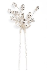 Brides And Hairpins Fernada Hairpin Silver