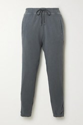 James Perse Supima Cotton Terry Track Pants Gray