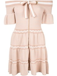 Alice Mccall Don't Forget About Me Mini Dress Neutrals