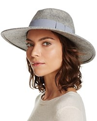 Aqua Fedora Light Gray