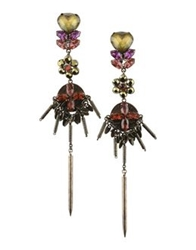 Vickisarge Earrings Bronze