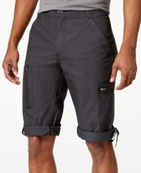 Inc International Concepts Men's Foster Messenger Shorts Only At Macy's Dark Lead