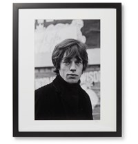Sonic Editions Framed Mr Jagger Print 17 X 21 Black