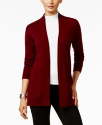 Charter Club Petite Cashmere Open Front Cardigan Only At Macy's Crantini