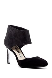 Revolution Caught Ankle Cuff D'orsay Pump Black