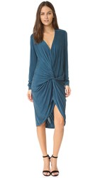 Young Fabulous And Broke Yfb Clothing Adele Dress Sea Blue