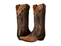 Old West Boots Mf1535 Brown Canyon Bazooka Cowboy Boots