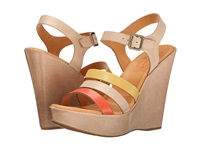 Kork Ease Fay Soda Multi Women's Wedge Shoes Beige