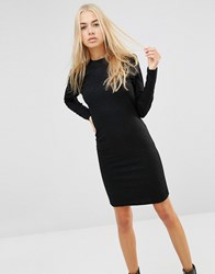 Minimum Alpha Bodycon Dress 2146826246 Black