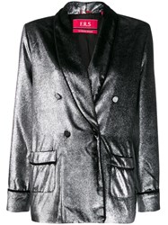 F.R.S For Restless Sleepers Argento Blazer Silver