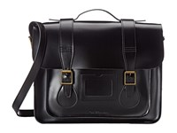 Dr. Martens 15 Leather Satchel Black Satchel Handbags