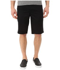 Ag Adriano Goldschmied Griffin Relaxed Shorts In Super Black Super Black Men's Shorts