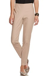 Vince Camuto Women's Side Zip Pants Sand Dune