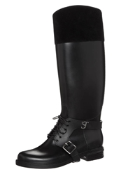 Supertrash Lacey Wellies Black