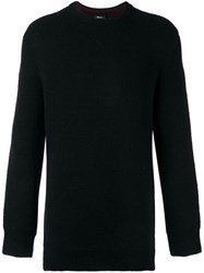 3.1 Phillip Lim Crew Neck Jumper Black