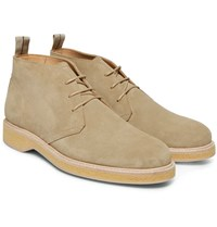 Want Les Essentiels Edwards Suede Chukka Boots Sand