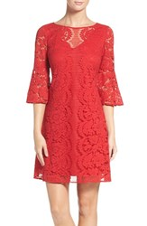 Gabby Skye Women's Lace A Line Dress