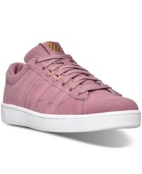 K Swiss Women's Hoke Fantasy Suede Cmf Casual Sneakers From Finish Line Wistful Mauve