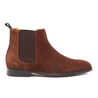 Paul Smith Ps By Men's Gerald Suede Chelsea Boots Snuff Brown