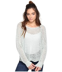 Billabong Dance With Me Sweater Aloe Women's Sweater Green