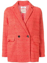 Coohem Double Buttoned Tweed Jacket 60