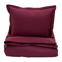 Gant Sateen Duvet Cover Purple Fig King